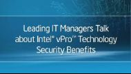 Enhance Security with Intel Technology