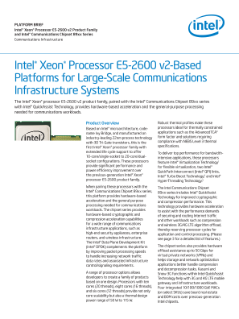Consolidate Communication Infrastructure Workloads