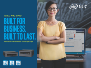Intel® NUC 8 Pro Product Brief