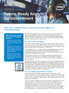 Future-Ready Analytics for Government Modernization