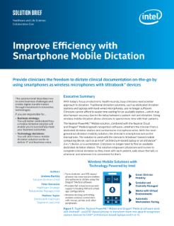 Improve Efficiency with Smartphone Mobile Dictation