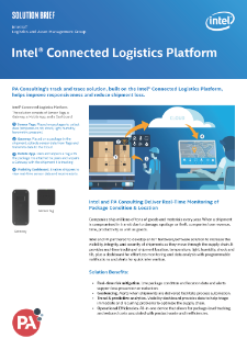 Track and Trace Shipments with Intel® Connected Logistics Platform (Intel® CLP)