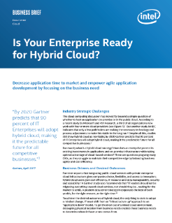 Hybrid Cloud Strategy Adoption for Your Enterprise