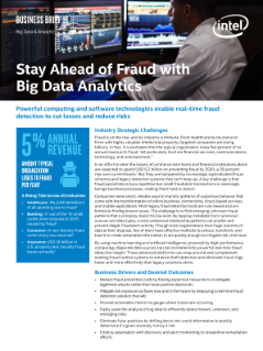 Stay Ahead of Fraud with Big Data Analytics