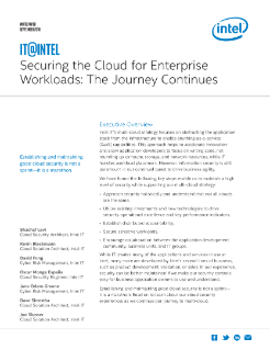 Securing the Cloud for Enterprise Workloads